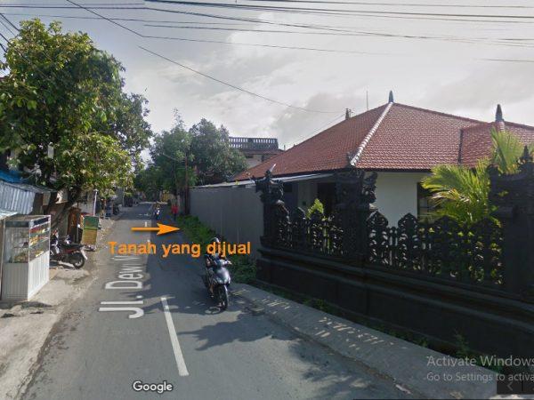 Dijual Tanah di Lokasi Super Istimewa Jalan Dewi Madri Renon